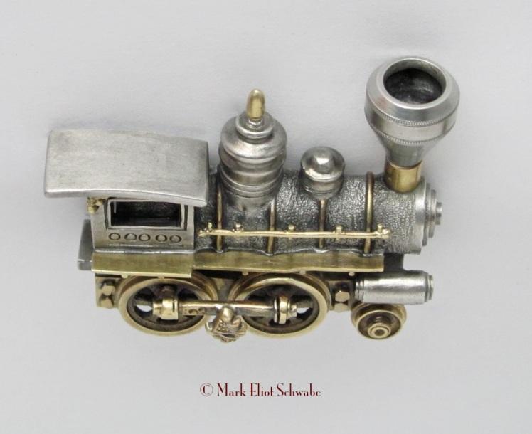 Steam Locomotive I_angle_top©